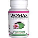Maxi Health - Womax - Kosher Natural Phytoestrogens - 60 Capsules MH-3226-01