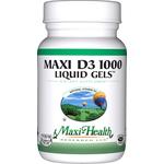 Maxi Health - Maxi Vitamin D3 1000 IU - 180 Softgels MH-3238-02