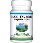 Maxi Health - Maxi Vitamin D3 2000 IU - 180 Softgels MH-3239-02