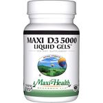 Maxi Health - Maxi Vitamin D3 5000 IU - 180 Softgels MH-3240-02