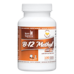Nutri Supreme - B-12 Methyl 1000 mcg With B6 & Folic Acid - Orange Flavor - 100 Lozenges NS-6010-01