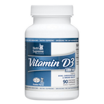 Nutri Supreme - Vitamin D3 1000 IU - 90 Capsules NS-6081-01