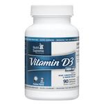 Nutri Supreme - Vitamin D3 5000 IU - 90 Capsules NS-6084-01