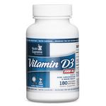 Nutri Supreme - Vitamin D3 2000 IU - 180 Softgels NS-6093-01