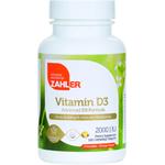 Zahler's - Vitamin D3 2000 IU - Orange Flavor - 120 Chewables ZN-5066-01