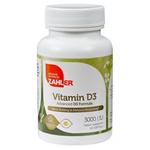 Zahler's - Vitamin D3 3000 IU - 120 Softgels ZN-5068-01
