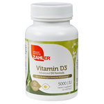 Zahler's - Vitamin D3 5000 IU - 120 Softgels ZN-5070-01