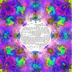 "Hamsa protection- Sandrine Kespi Creations printable pdf-  all wording- ketubah to fill - 23.4x 23.4""- 60x60cm pdf 1841"