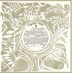 "parchment lace- Sandrine Kespi Creations printable pdf-  interfaith or Reform wording- ketubah to fill - 23.4x 23.4""- 60x60cm pdf 39"