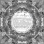 "Jerusalem 's energy- 3D effect- Sandrine Kespi Creations printable pdf-  interfaith, Reform or any other wording- ketubah to fill - 17x17""- 42x42cm pdf Jerusalem's energy"