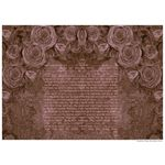 "Roses- Sandrine Kespi Creations-printable pdf-  interfaith , Reform or any other  wording- ketubah to fill - 16.5"" x 21""- 42x58cm [CLONE] pdf - roses"