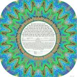 """Tribal Crown- 3D effect- Sandrine Kespi Creations printable pdf-  interfaith, Reform or any other wording- ketubah to fill - 17x17""""- 42x42cm pdf tribal crown"""