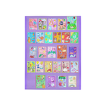 "Hebrew alphabet area rug-5'3""x4'-Sandrine Kespi Creations design- washable and resistant- special kids-soft and light- original judaica gift-educational gift area rug 5'3""x4'-Rabbi shalom Hebrew alphabet- purple"