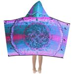 fishes Mandala Hooded towel-Sandrine Kespi Creations- Special kids-custom possible hooded towel-mandala