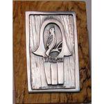 Emily Rosenfeld Hamsa and Bird Wall Plaque ER-WPHAM