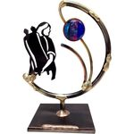 Gary Rosenthal Bat Mitzvah Sculpture With Glass Bead GR-BATS2