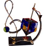 Gary Rosenthal Treble Clef Dreidel Sculpture GR-D37