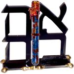 Gary Rosenthal Ahava Sculpture  With Wedding Glass Tube GR-LOVESH