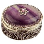 Michal Golan Fluorite Decorative Box MG-X259