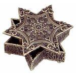 Michal Golan Crystals, Pearls & Hematite Decorative Box MG-X187