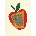 The Festive Apple - Box of 10 Cards 357-box