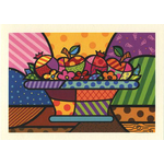 Rosh Hashana Fruit Bowl - Box of 10 Cards 359-box