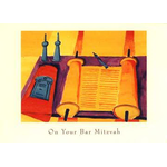 At the Bimah - Box of 10 Cards 908-box