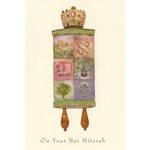 The Mosaic Bat Mitzvah Torah - Box of 10 Cards 917-box