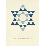 Blue Star of David - Box of 10 Cards 920-box