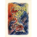 The Mystical Menorah - Box of 10 Cards 514-box