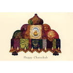 The Mosaic Menorah - Box of 10 Cards 515-box