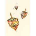 The Spinning Dreidel - Box of 10 Cards 521-box
