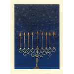 The Celestial Menorah - Box of 10 Cards 536-box