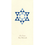 Blue Star of David - Box of 10 Cards 712-box