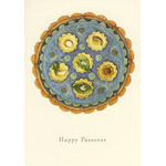 The Mosaic Seder Plate - Box of 10 Cards 805-box