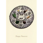The Papercut Seder Plate - Box of 10 Cards 808-box