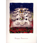 The Heavenly Seder Table - Box of 10 Cards 814-box