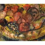Fruits by Issachar Ber Ryback Jewish Art Oil Painting Gallery IBR409