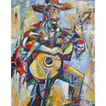 The Mexican Jew | Jewish Art Oil Painting Gallery ISRTMJ589960