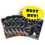 COMPLETE STARTER PACKAGE - 6 Music Books & 6 CDs Complete Starter Pkg-6 Books & 6 CDs