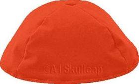 Burnt Orange Velour Kippah VRBO