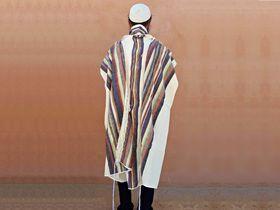 Tallit For Man, Jewish Gift, High Holidays, Jewish Prayer Shawl, Handwoven Tallit, Cotton Tallit, Wedding Tallit Set, White Prayer Shawl 166079739