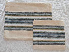 Tallit Bag, Tefillin Bag, Cotton Tefillin Bag, Judaica Gift, Jewish Gift, Bar Mitzvah Gift, Prayer Bag, Woven Tallit Bag, Tefillin Case 647425201