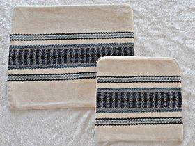 Judaica Gift, Tallit Bag, Tefillin Bag, Cotton Tefillin Bag, Jewish Gift, Bar Mitzvah Gift, Prayer Bag, Woven Tallit Bag, Tefillin Case 649828485