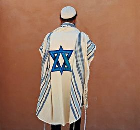 Jewish Wedding, High Holidays, Woven Tallit, Jewish Prayer Shawl, Cotton Tallit, Tallit Set, Tallit For Man, Tallis, White Prayer Shawl 629646623