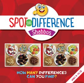 Spot the Difference - Shabbos SDSH