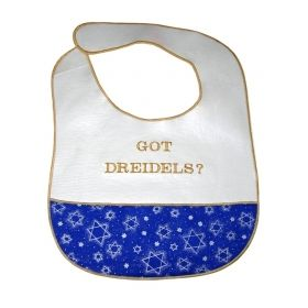 Got Dreidles? Baby Bib 101GD