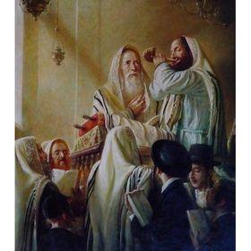 Elena Flerova - Rosh Hashanah | Jewish Art Oil Painting Gallery ELET49382