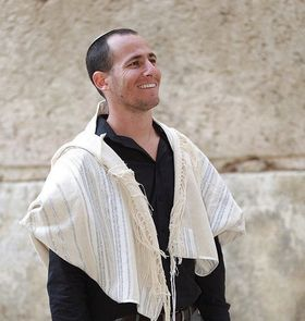 Jewish Gift, High Holidays, Jewish Prayer Shawl, Handwoven Tallit, Cotton Tallit, Wedding Tallit Set, Tallit For Man, White Prayer Shawl 166072830