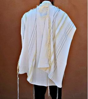 Bar Mitzvah, High Holidays, Woven Tallit, Jewish Prayer Shawl, Cotton Tallit, Tallit Set, Tallit For Man, Tallis, White Prayer Shawl, Tallis 643793155